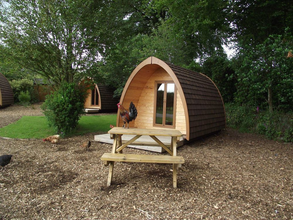 Pods in Devon – The best camping pod accommodation in Devon