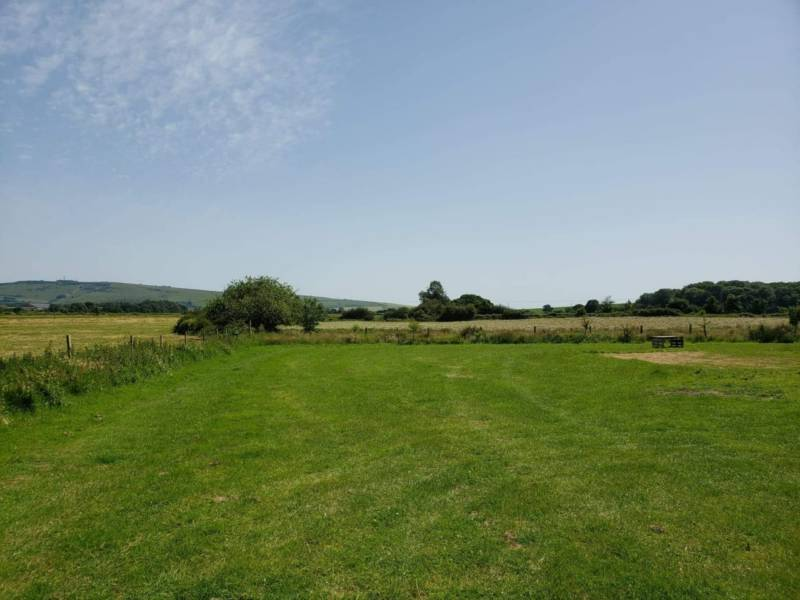 Riverside pitch