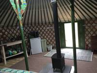 Bertie the Yurt