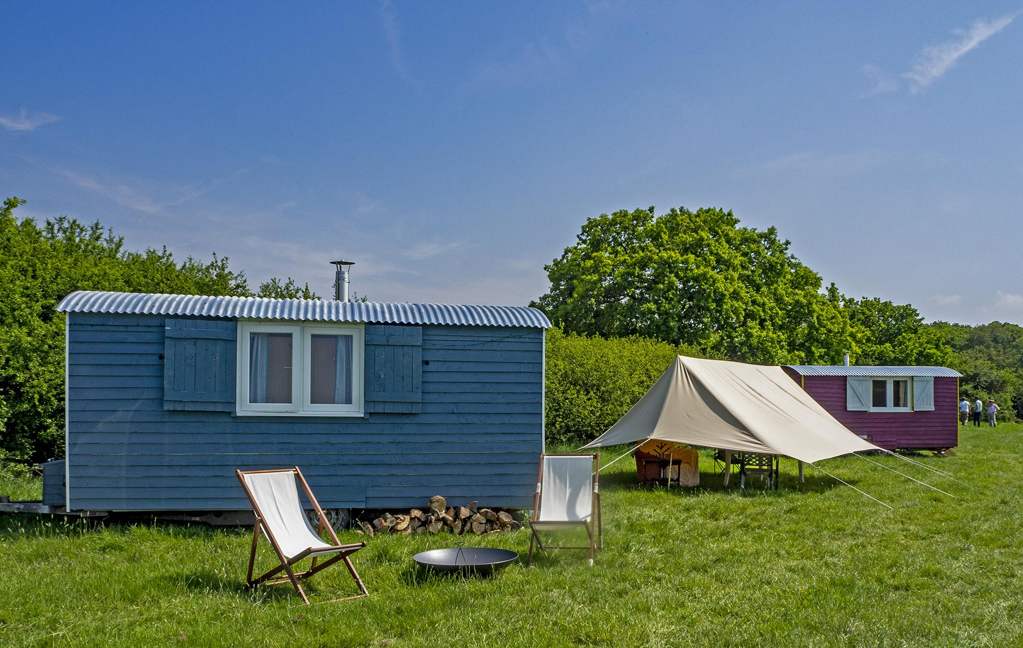 Glamping in Whitstable holidays at Cool Camping