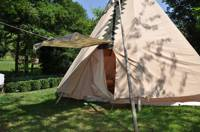 Tipi for a family