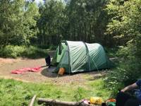 Faraway Double Tent Pitch