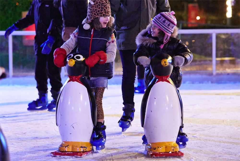 Christmas Ice Skating Rinks in London