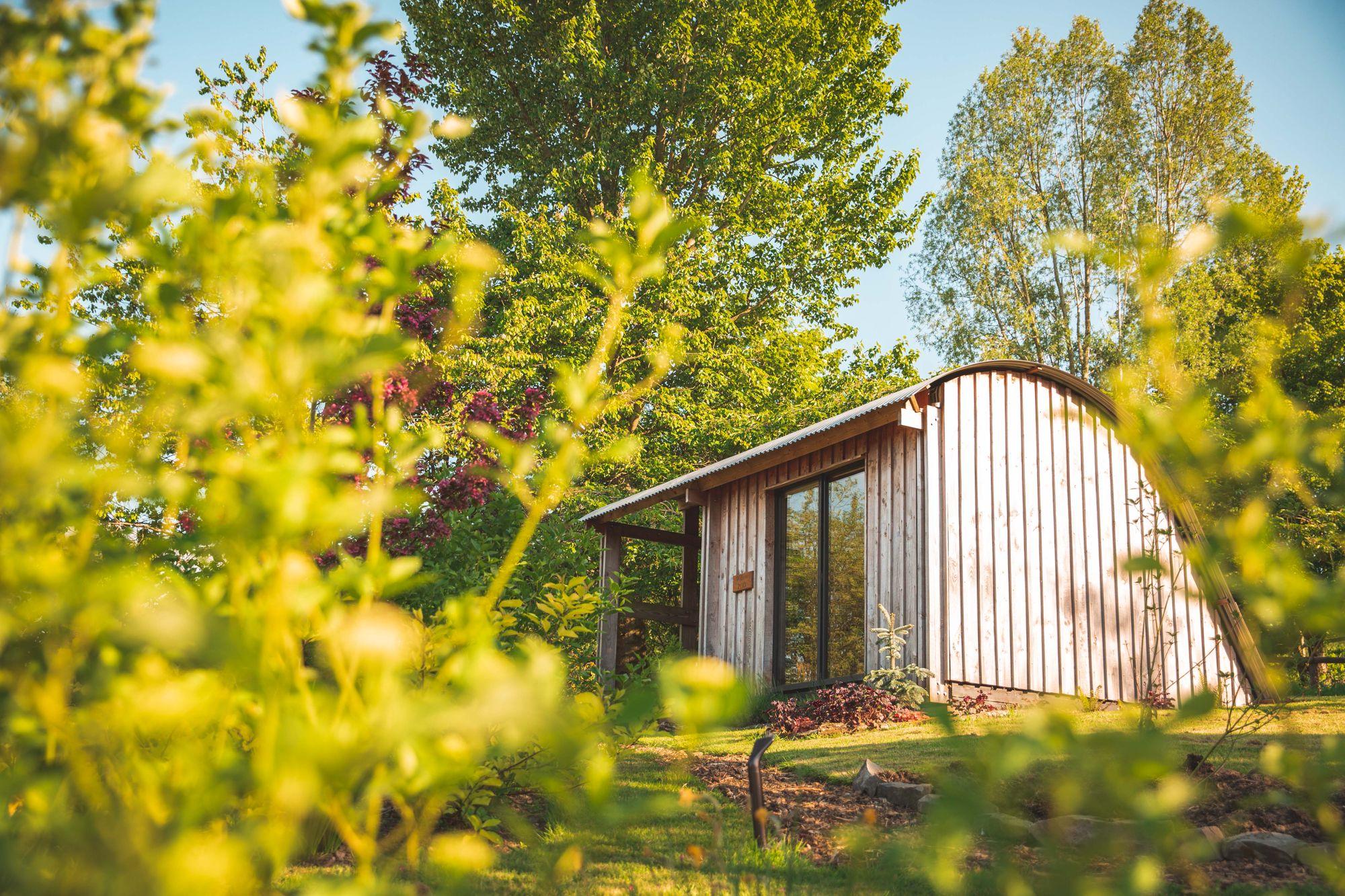 Glamping in Knighton holidays at Cool Camping