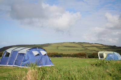 Coastal views, access to beaches and Exmoor walks aplenty... Happy campers? Yes indeedy.