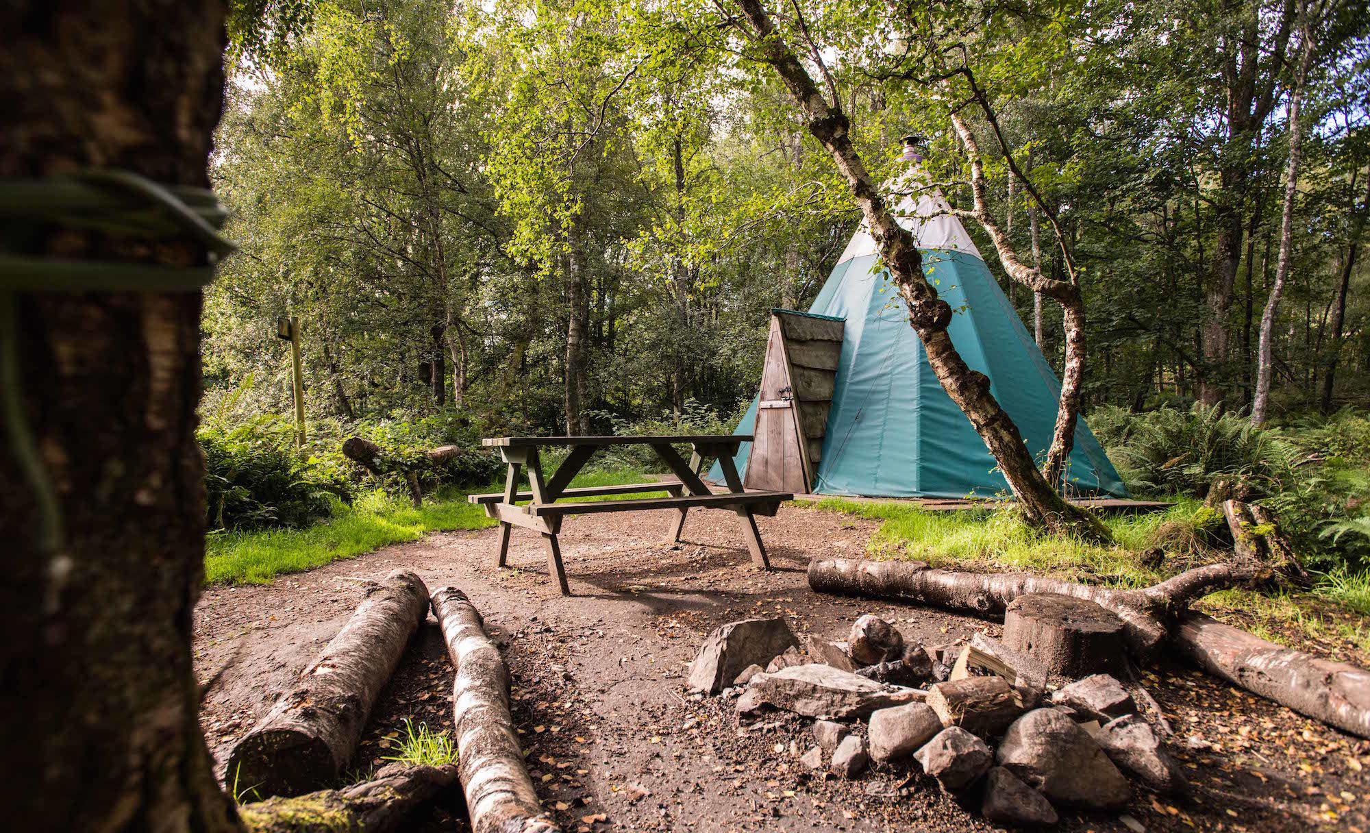 Glamping in Central Scotland
