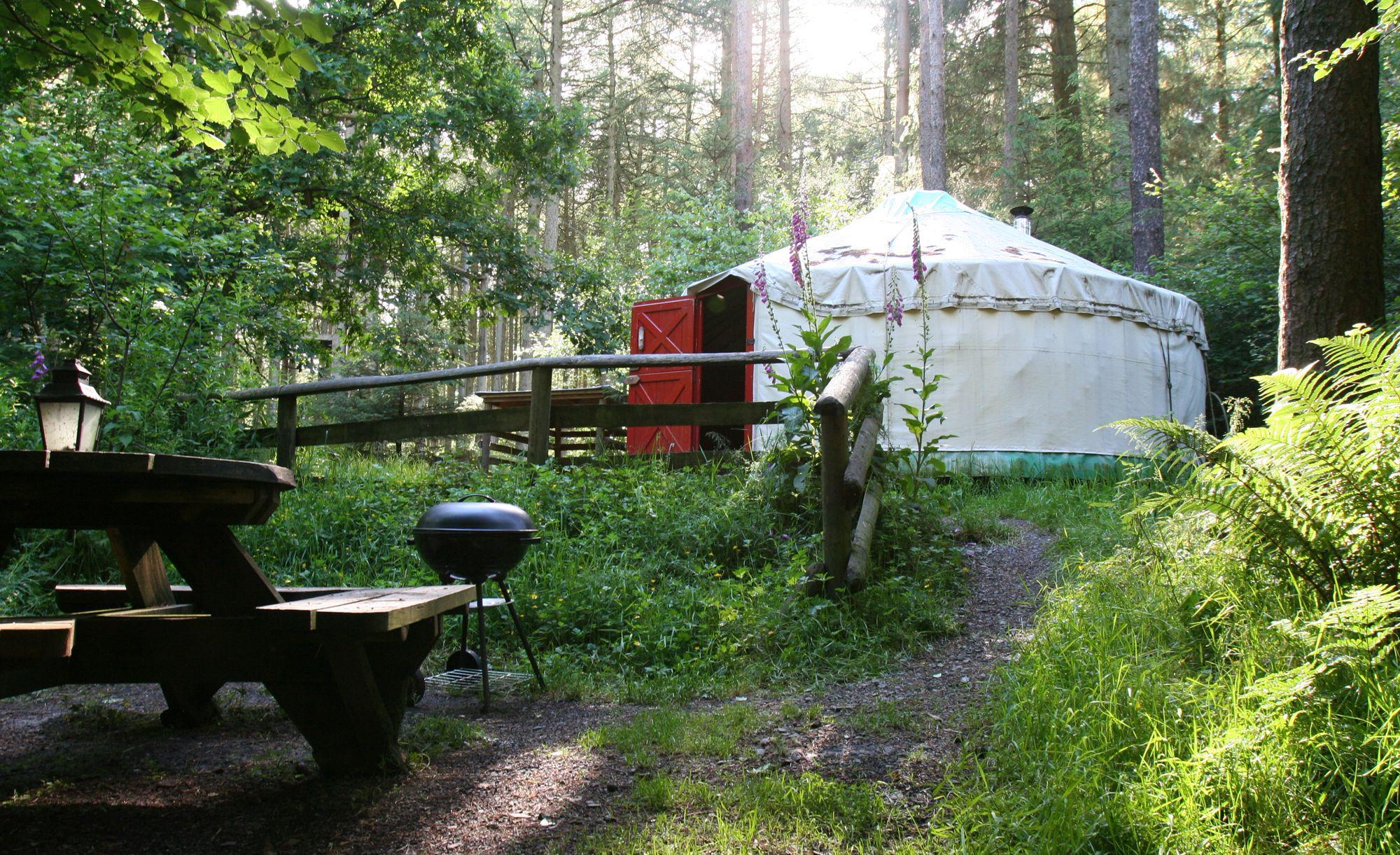 Glamping in Southern Scotland
