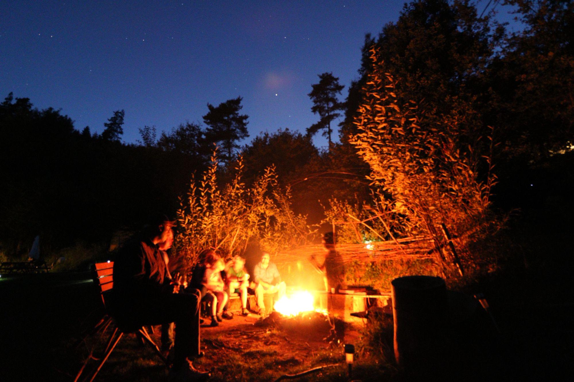 Campfire Campsites in France - camping with campfires in France