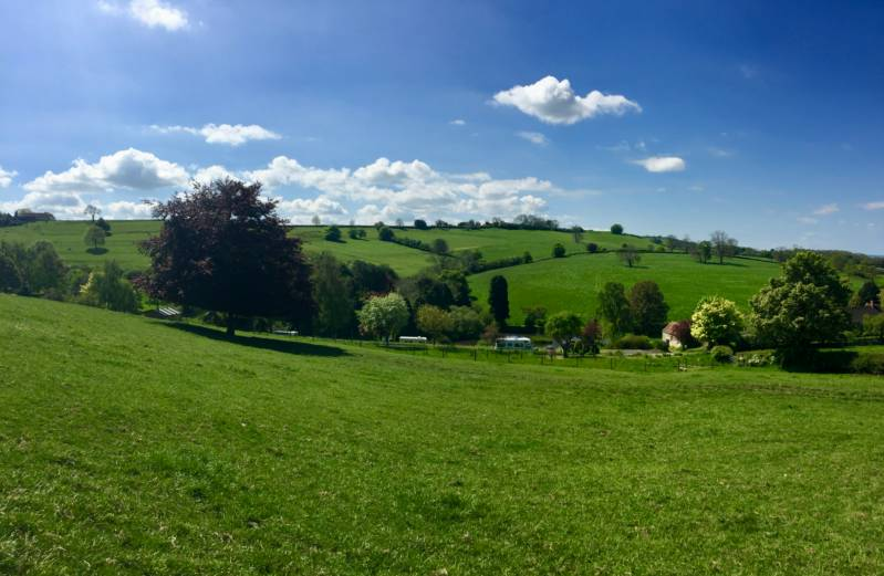 Batcombe Vale Campsite Batcombe Vale, Batcombe, Near Bruton, Somerset BA4 6BW