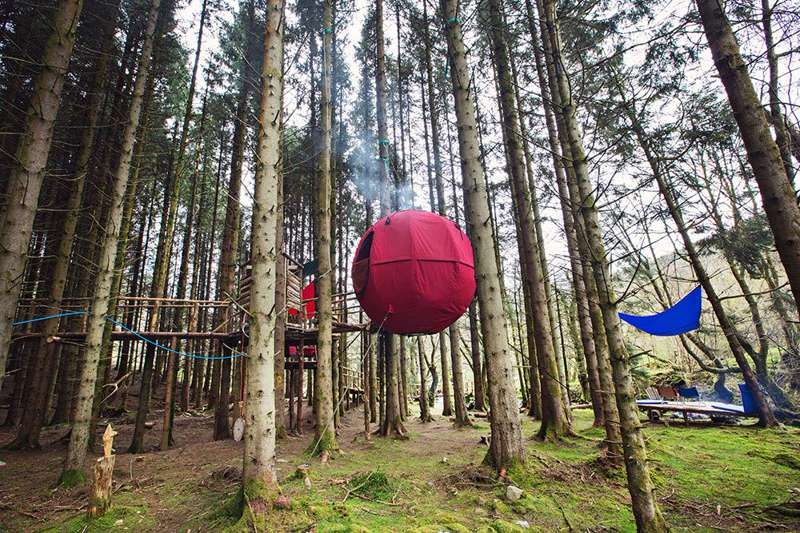 Red Kite Tree Tents Newbridge-on-Wye, Builth Wells, Powys, Wales LD2 3SG