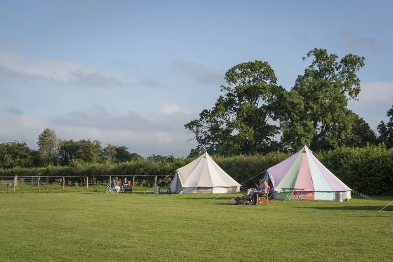 Botany Camping Botany Farm, Bradley Road, Warminster, Wiltshire BA12 7JY