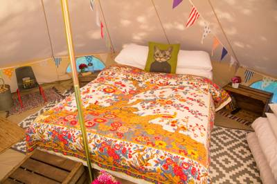 Book your stay at Amberu0027s Bell Tent C&ing at Mannington Hall & Amberu0027s Bell Tent Camping at Mannington Hall Norfolk