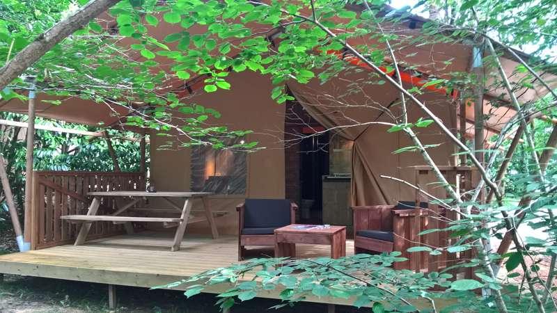 Luxury Lodge M At La Parenth 232 Se Camping Les Ormes