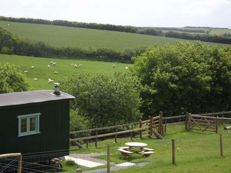 Shepherd's Huts in Devon