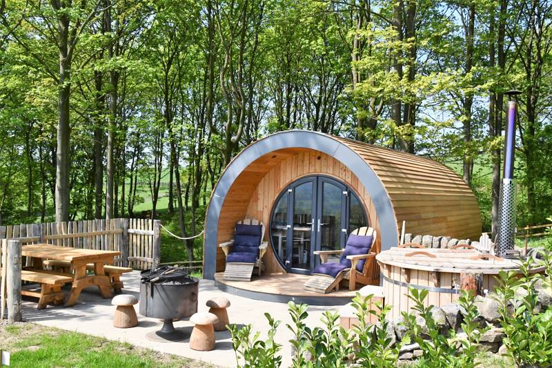 Catgill Farm Camping & Glamping Catgill Farm, Bolton Abbey, North Yorkshire BD23 6HA