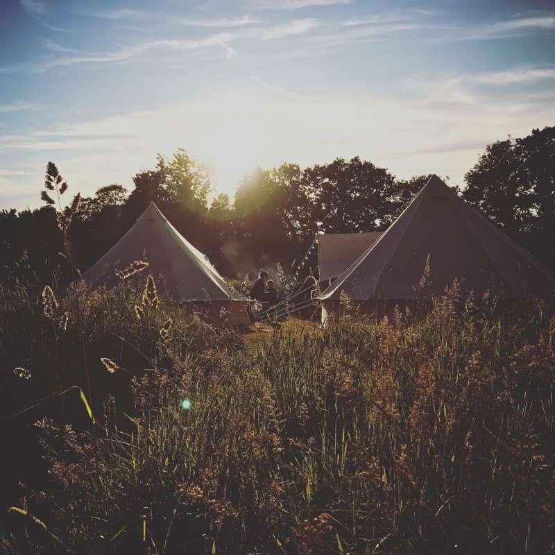 Birds & Bees Campsite Rendham Hall, Rendham, Saxmundham, Suffolk IP17 2AW