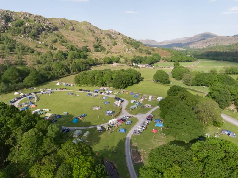 Fisherground Campsite Fellside Cottage, Eskdale, Holmrook, Cumbria CA19 1TF