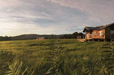 Luxury glamping in the undiscovered stretches of the Forest of Bowland.