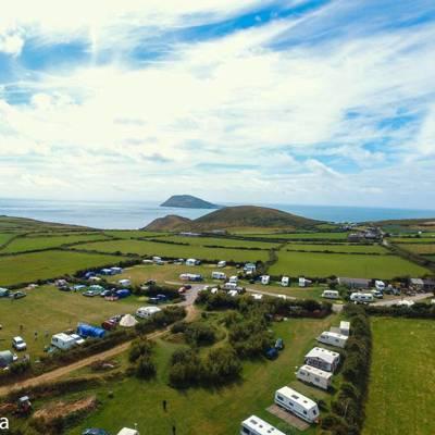 Ty Newydd Farm Caravan & Camping Site Uwchmynydd, Aberdaron, Pwllheli, Gwynedd LL53 8BY