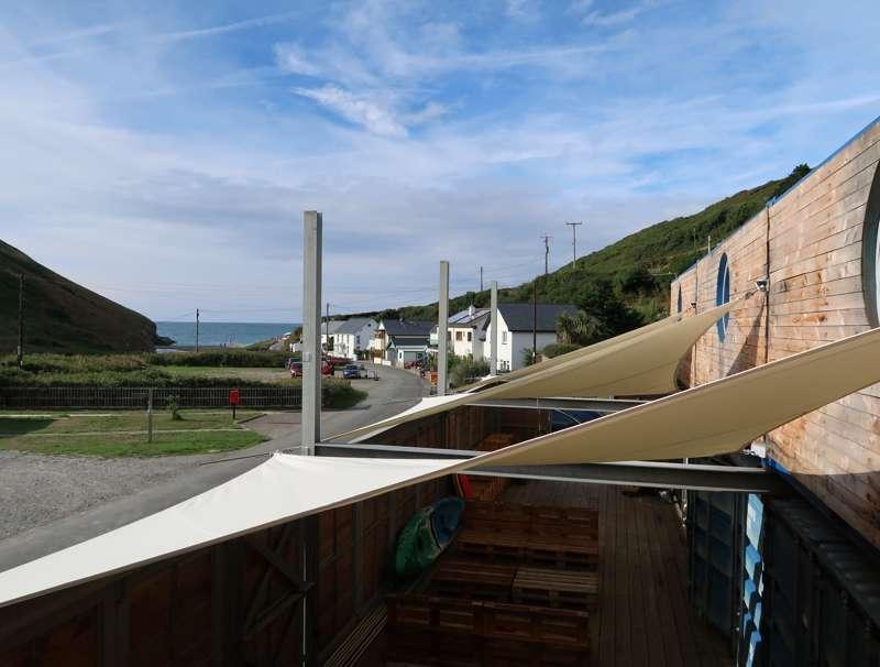 Ty Cwch Boathouse Cwmtydu, Llandysul, Llwyndafydd, Ceredigion SA44 6LQ