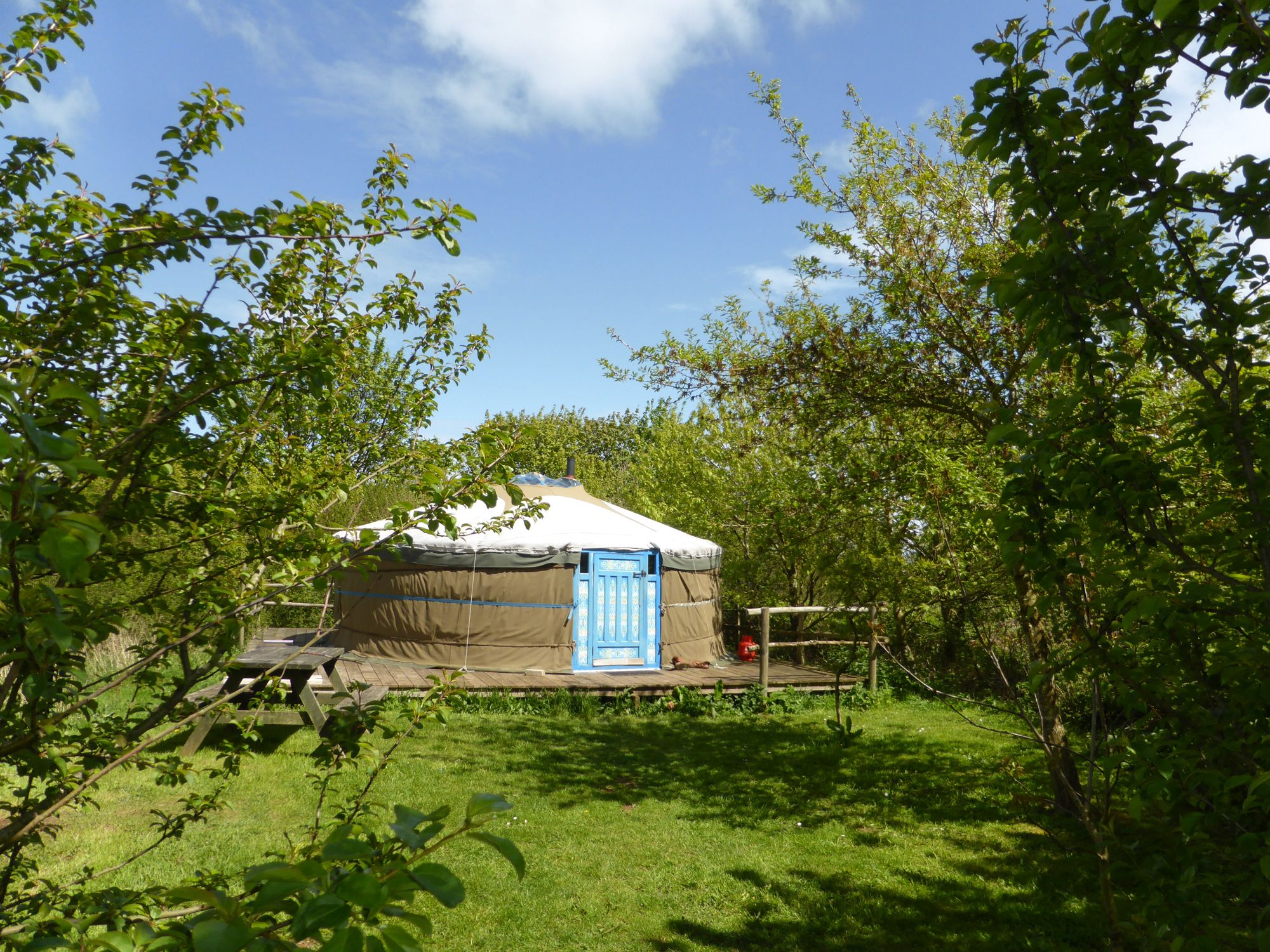 Glamping in Anglesey holidays at Cool Camping