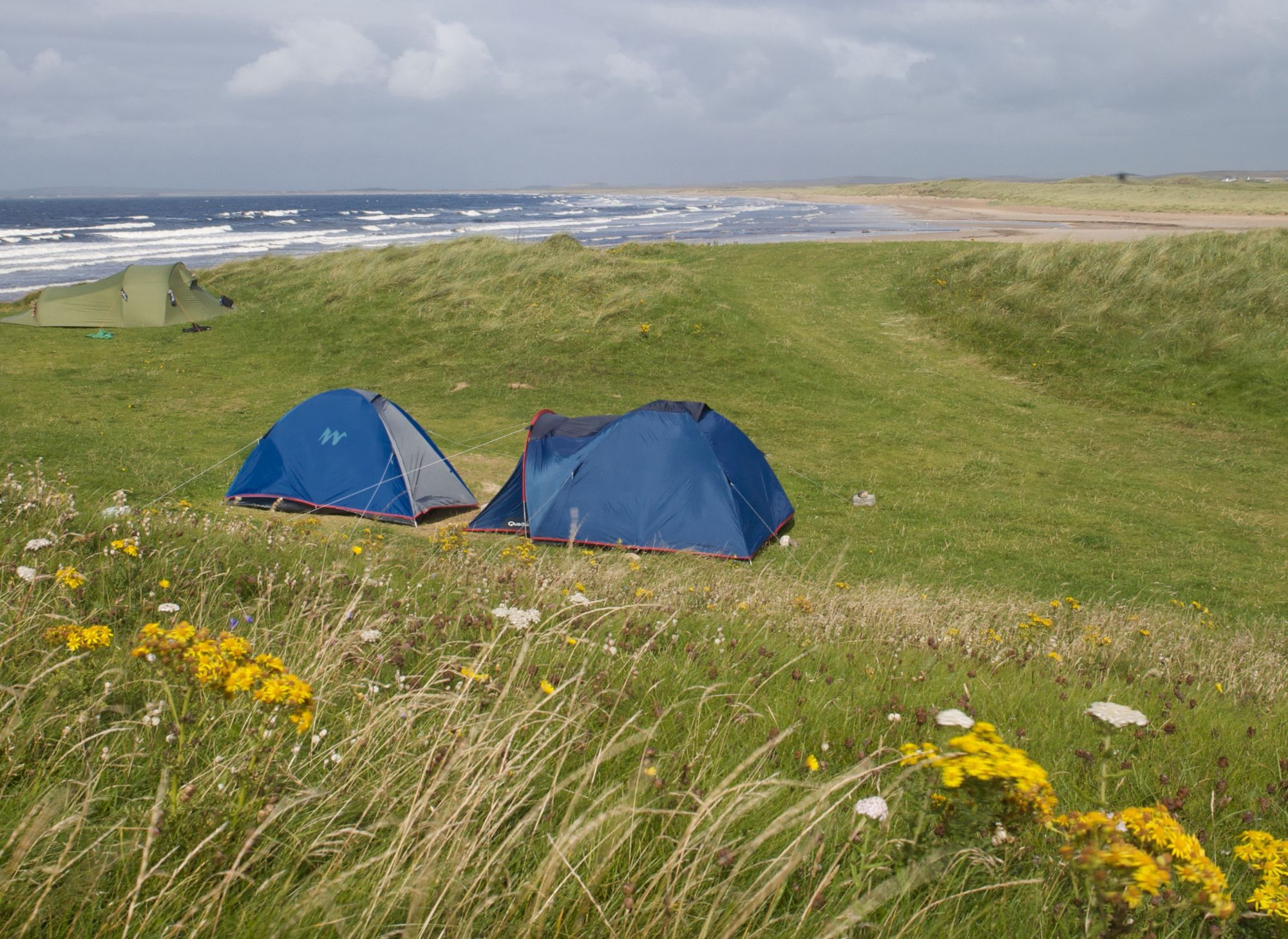 The combination of camping and beaches – camping by beaches, camping above beaches, camping with even the slightest hint of a beach in the vicinity, is the best.