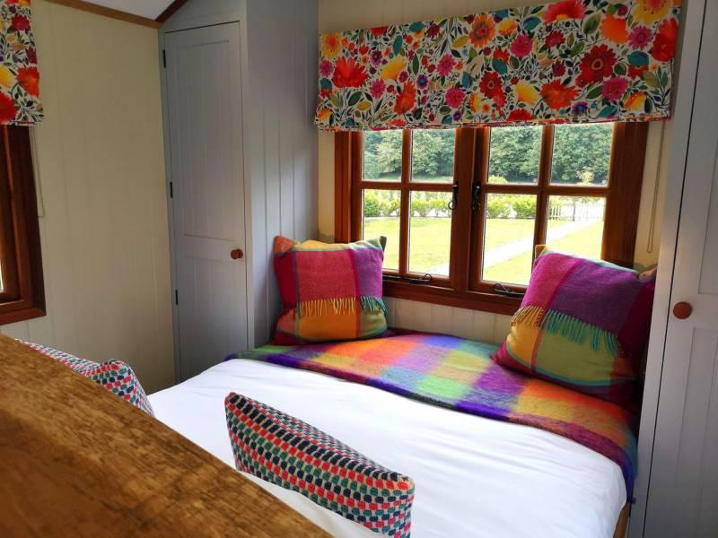 Win a 2-Night stay in a Shepherd's Hut!