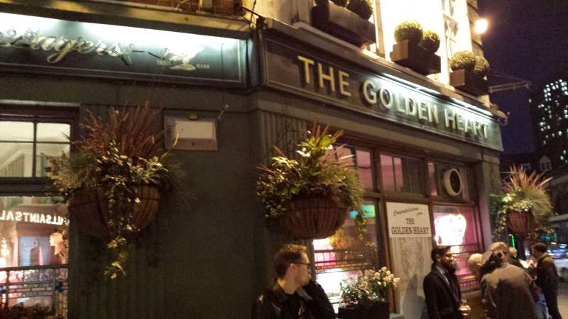 The Golden Heart Pub - Spitalfields