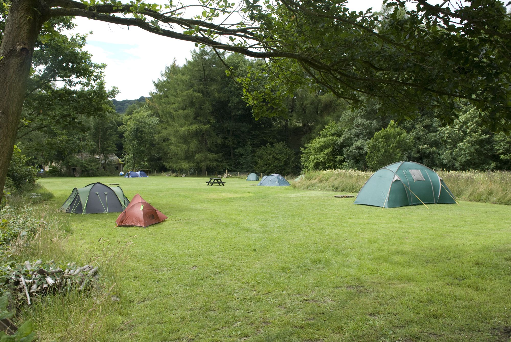 Campsites in the Peak District