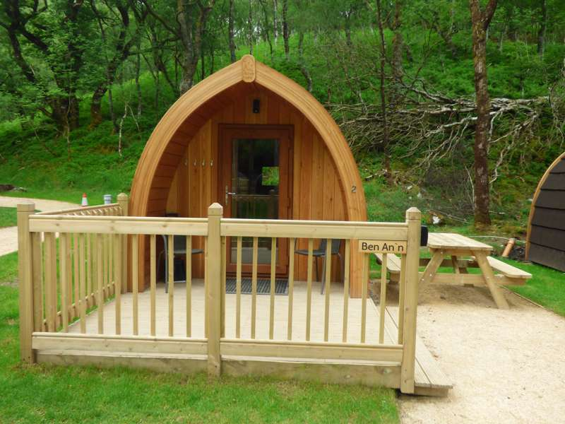 Ben A An Standard Eco Lodge At Loch Katrine Eco Camping