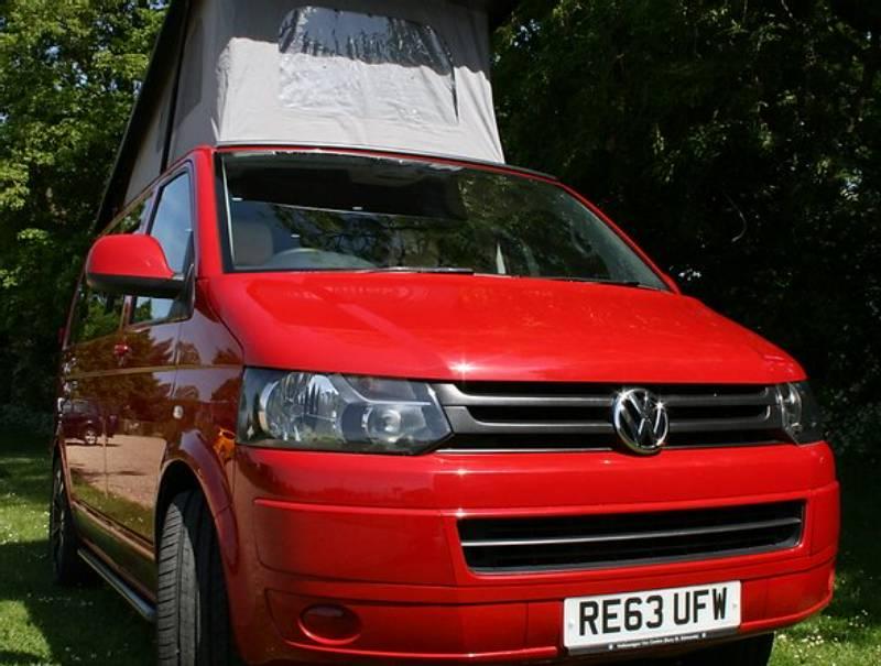Rhubarb – 2014 VW T5 Transporter Campervan