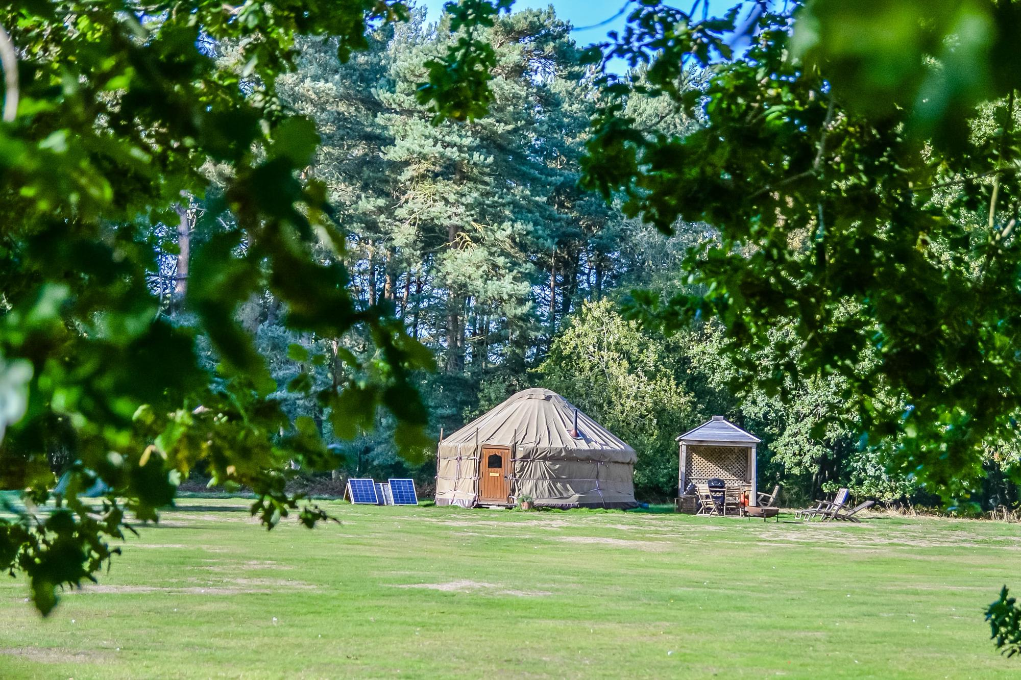 Campsites in East Anglia holidays at Glampingly