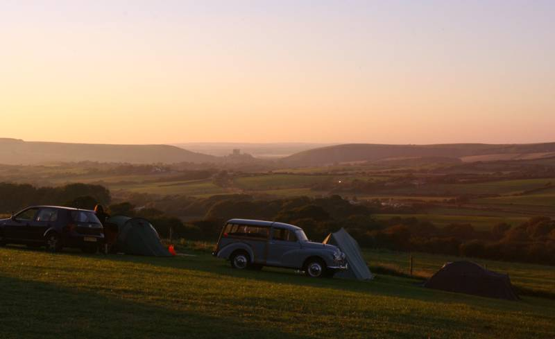 Swanage Camping – Best campsites near Swanage Bay, Dorset