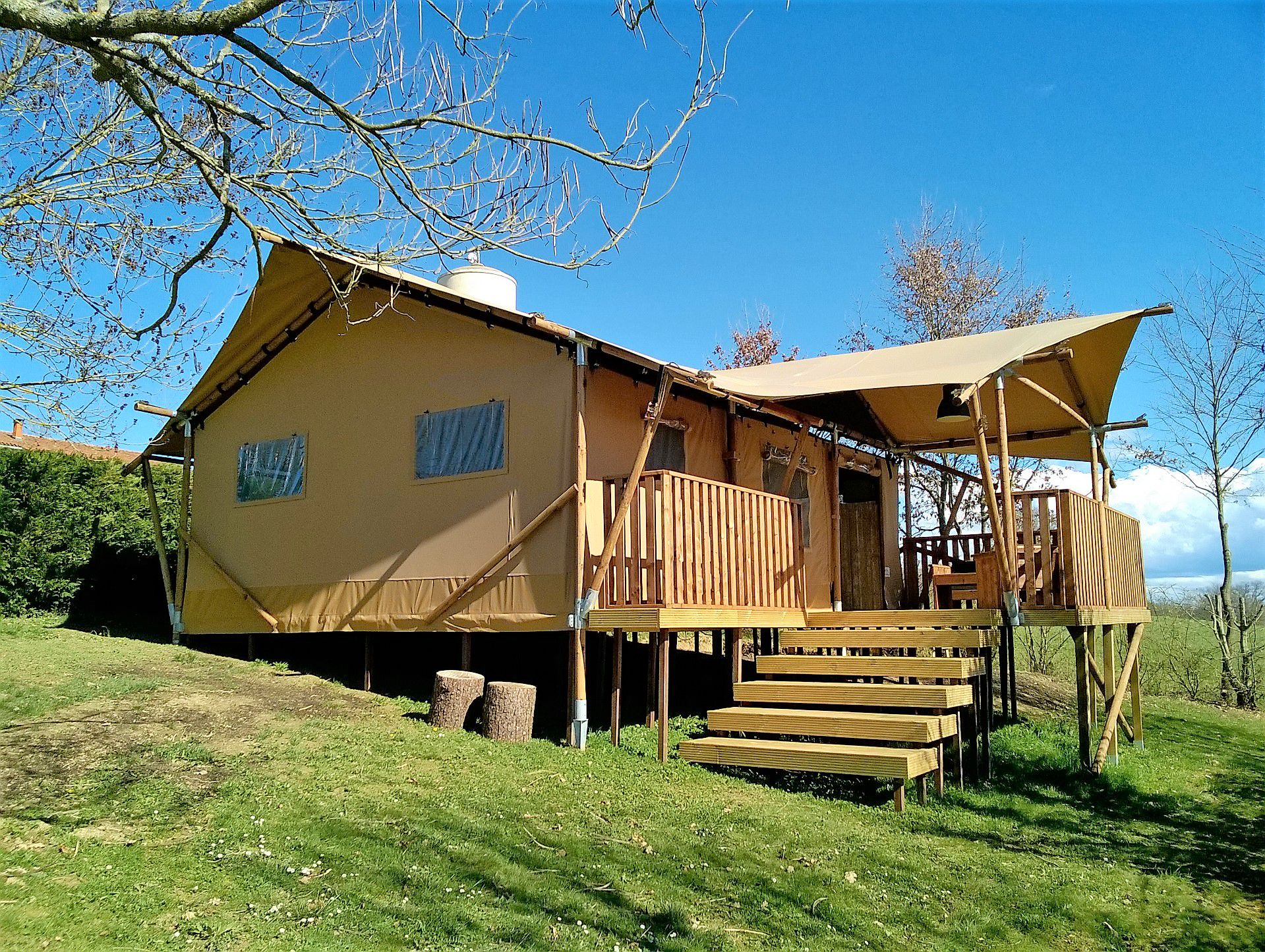 Glamping in Haute-Garonne holidays at Cool Camping