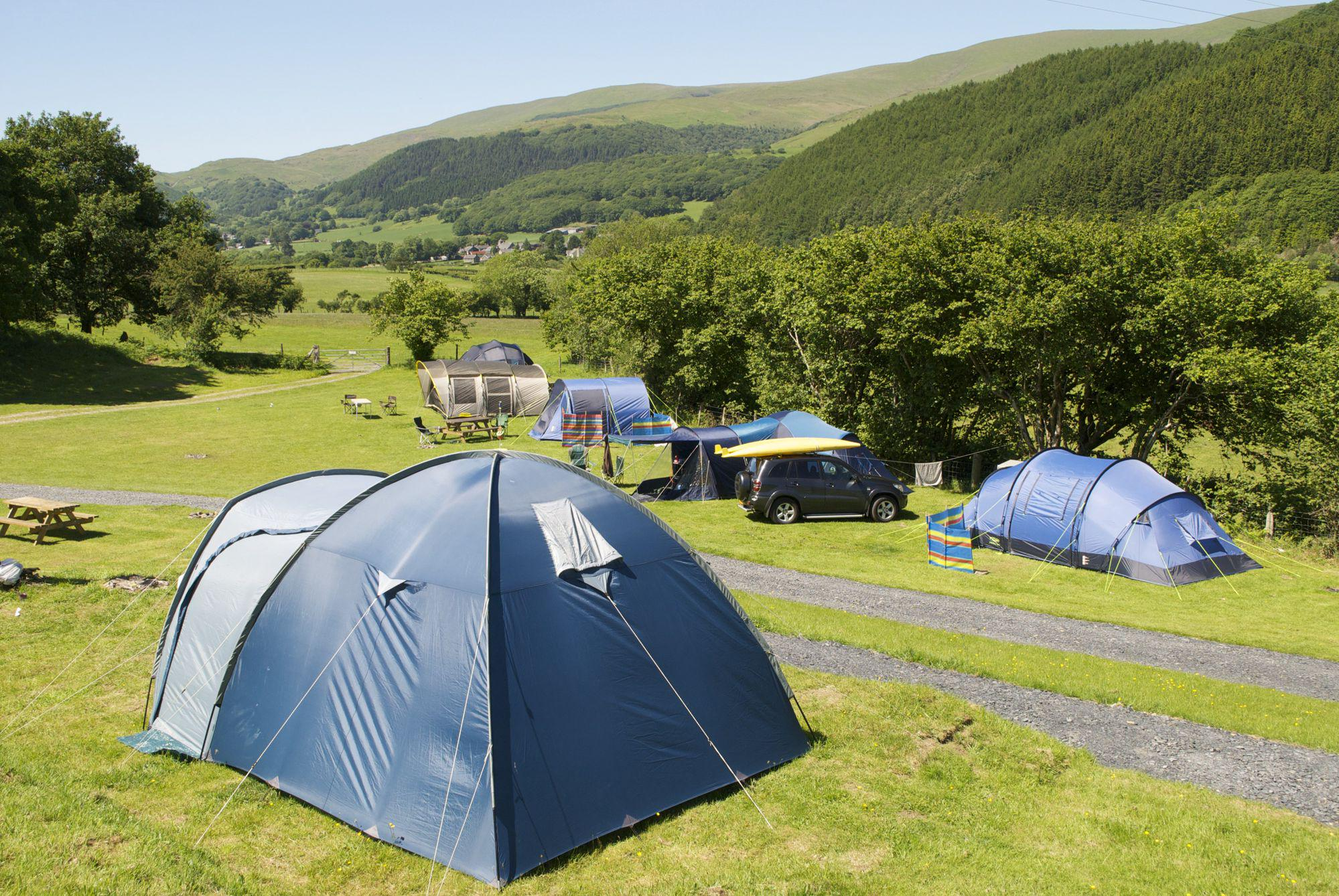 Machynlleth Camping | Campsites in Machynlleth, North Wales