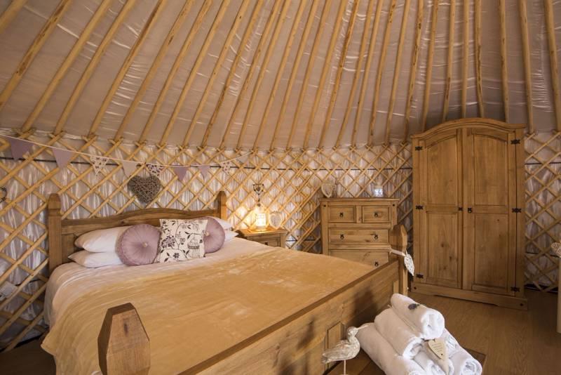Cornwall Yurts at Carnebo Holiday Barns