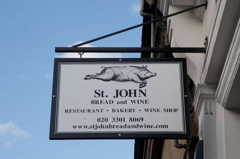 St John Bread and Wine