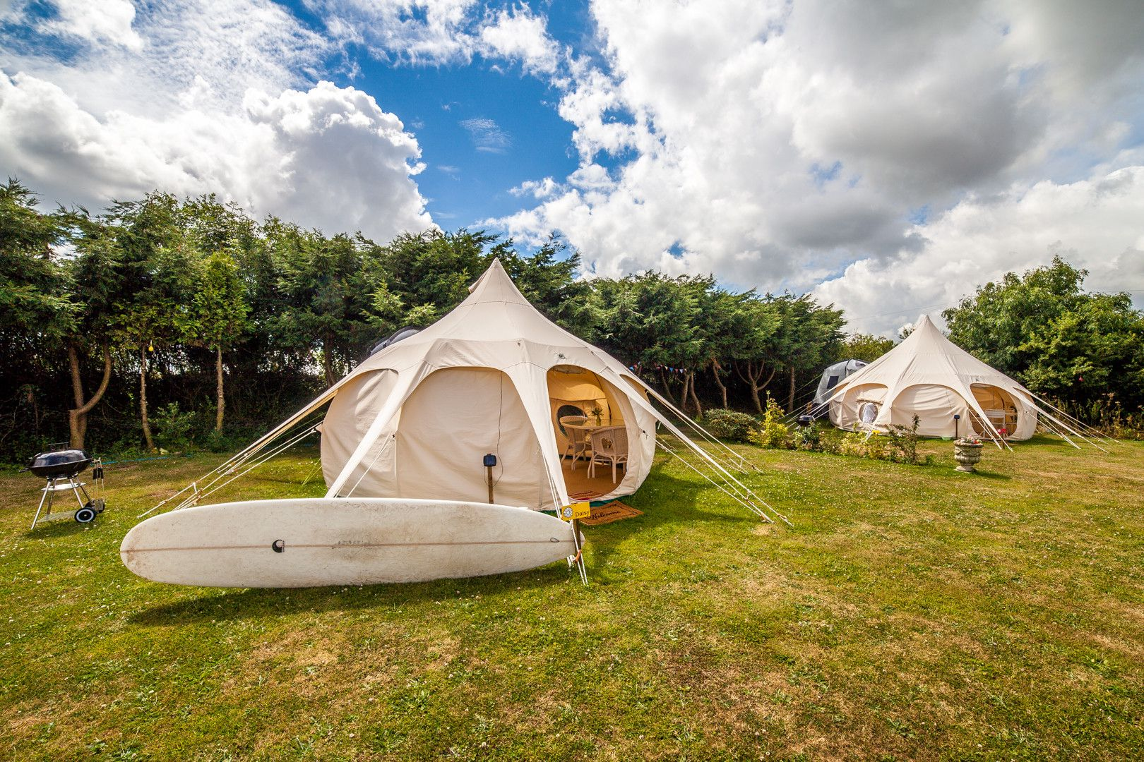 Bell tent glamping in the South West – Glampingly