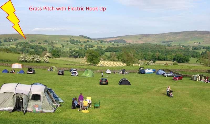 8m x 6m EHU grass pitch