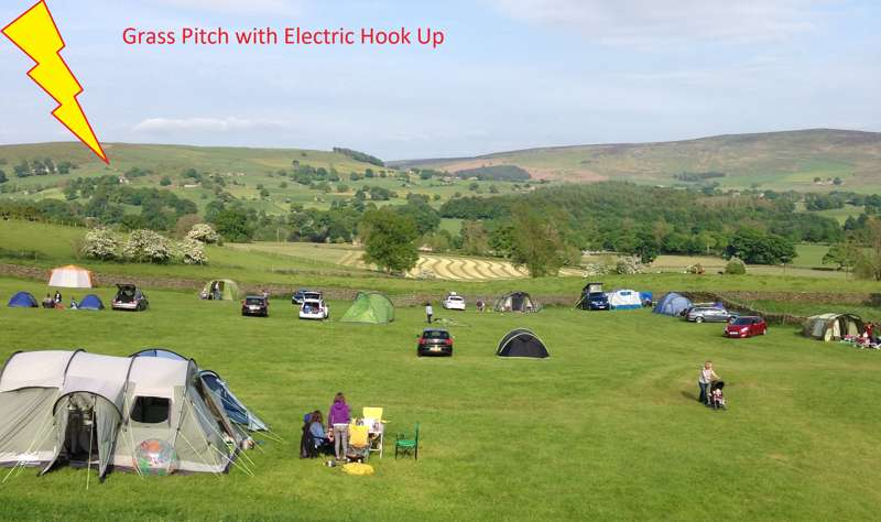 Grass Pitch with Electric Hook up