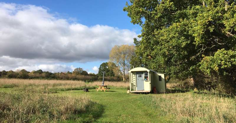 Hilda the Shepherd's Hut