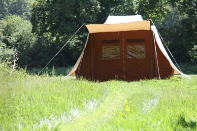 Secluded camping pitch 1 - Adults only