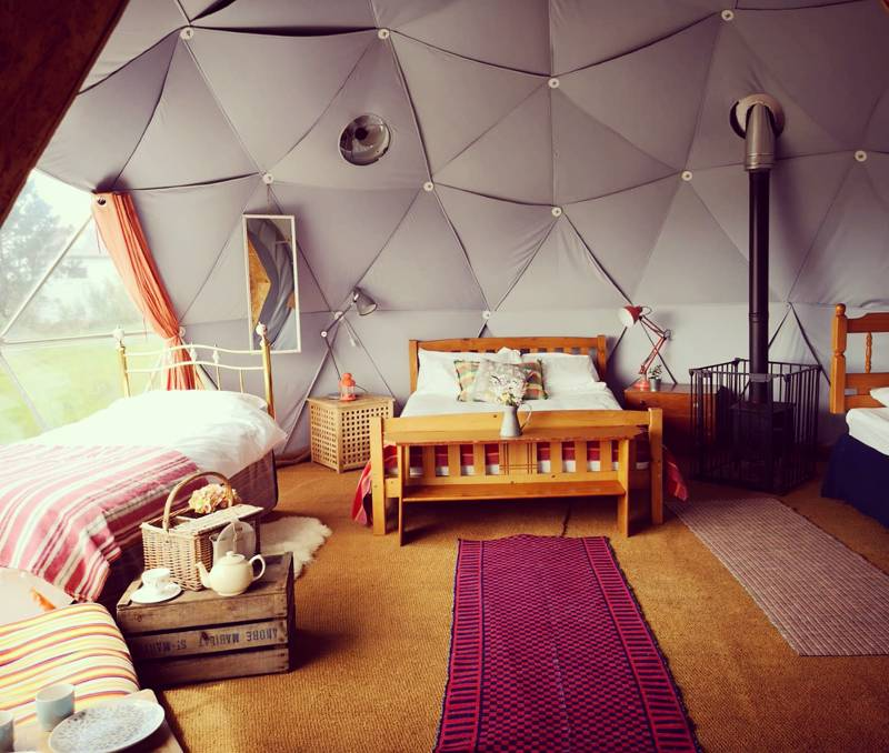 Tiree - Geodesic Dome