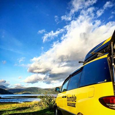 Win a week's campervan hire courtesy of Bumble Campers!