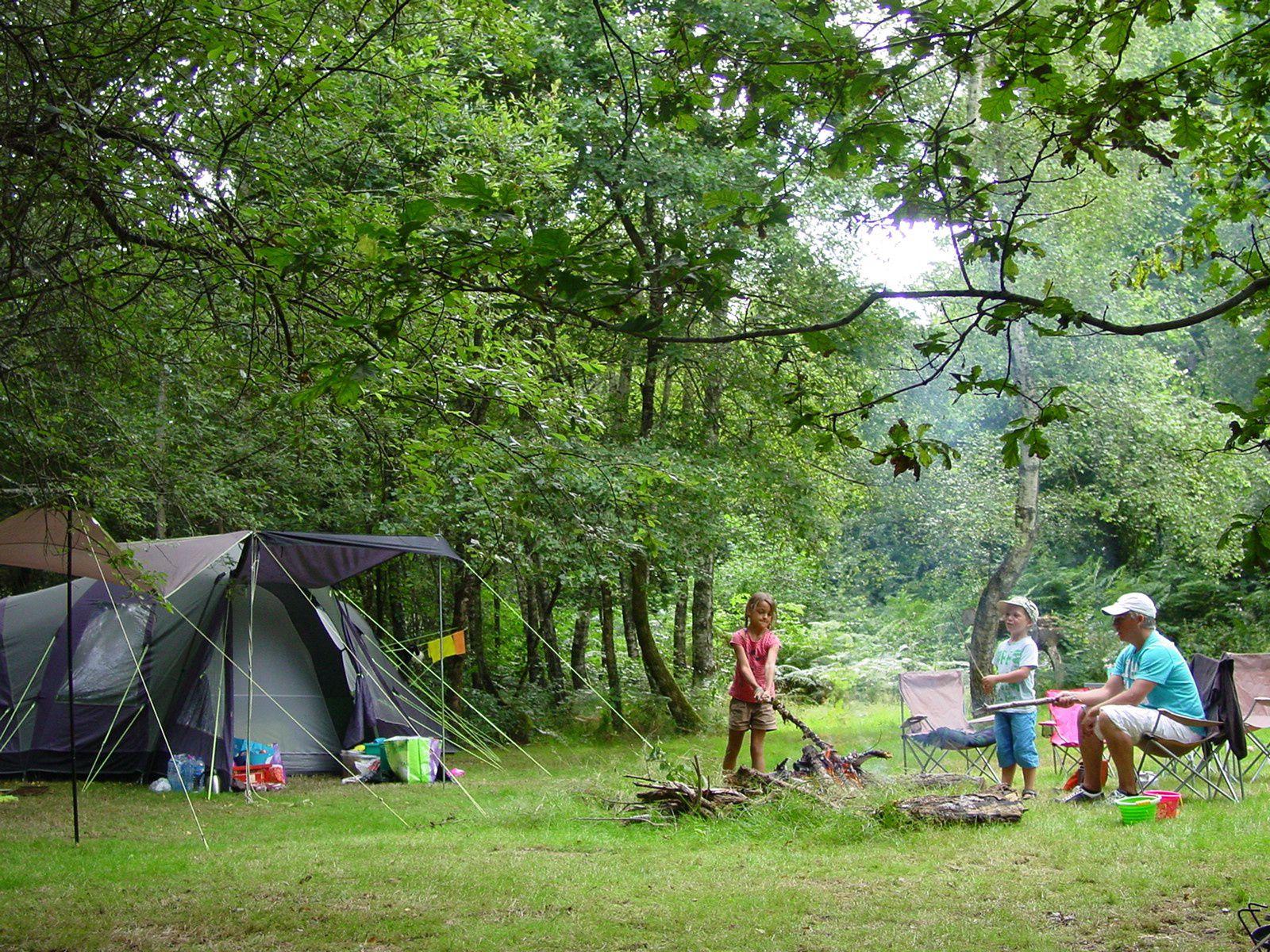 Campsites in Limousin