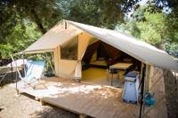 The Classic IV Wood & Canvas Tent