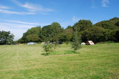 This tranquil retreat in a beautiful Gloucestershire location is the apple of our camping eye.