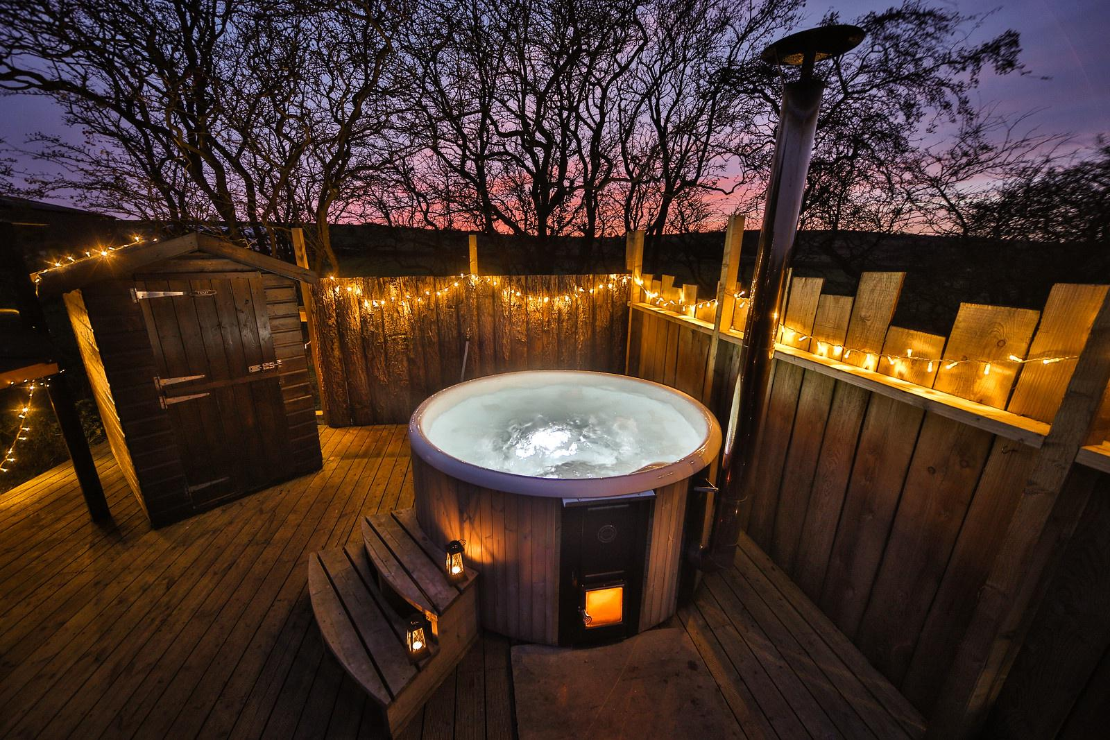 Glamping Sites With Hot Tubs The Best Hot Tub Glamping Sites