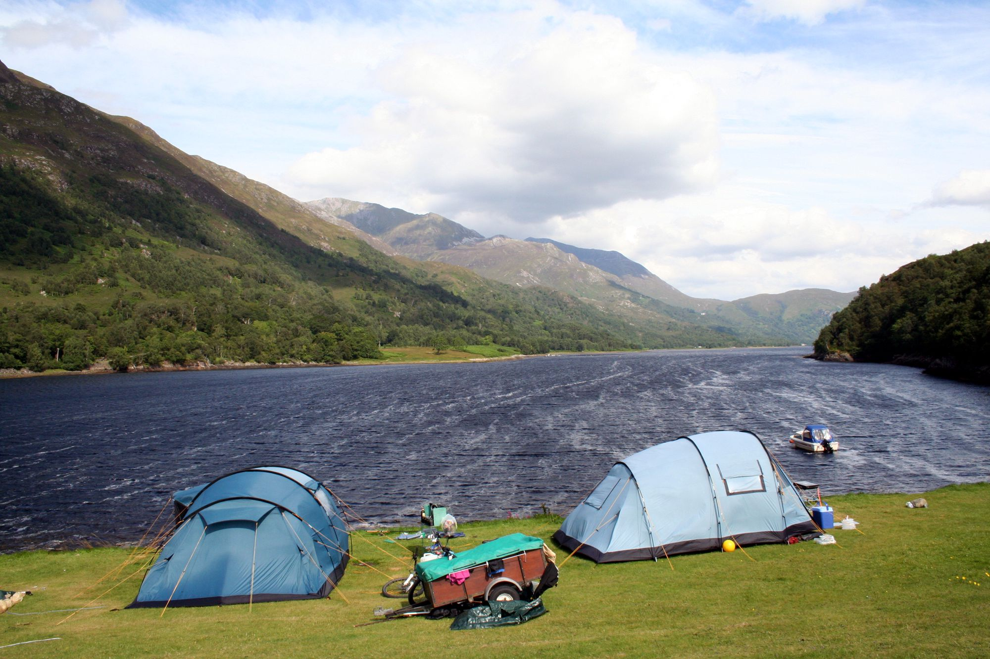 A little hidden lochside haven with some of the best scenery in Europe and yet still in close proximity to the ever needed creature comforts.