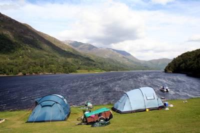 Caolasnacon Caravan & Camping Park Kinlochleven, Argyll, PH50 4RJ
